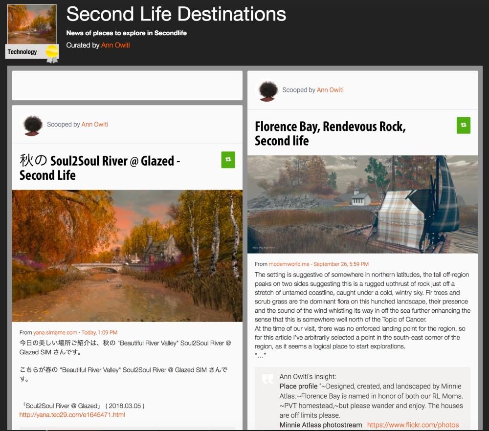 sl destinations