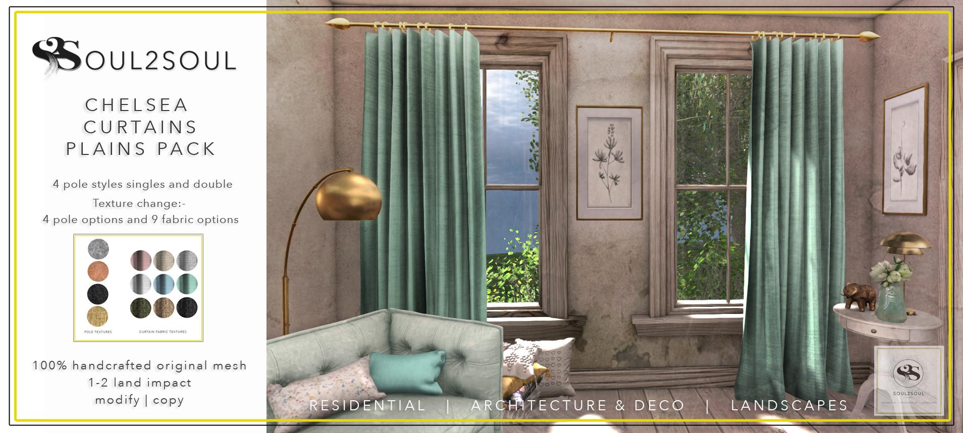 curtainsplainsposter